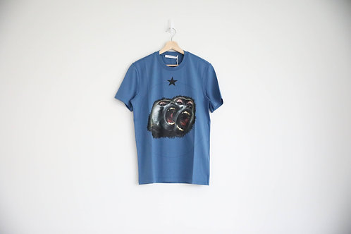 Givenchy Blue Monkey Bros T-shirt