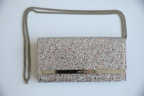 Jimmy Choo Viola Mix Speckled Glitter Mini Cross Body Bag