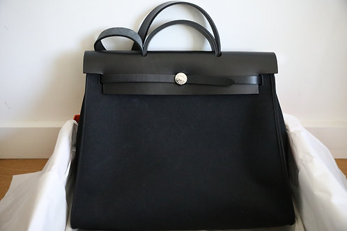 Hermes Herbag 39 Black