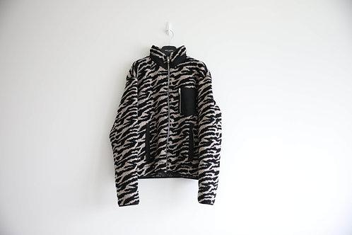 Lost Daze Wool Blended Fleece Zipped Jacket