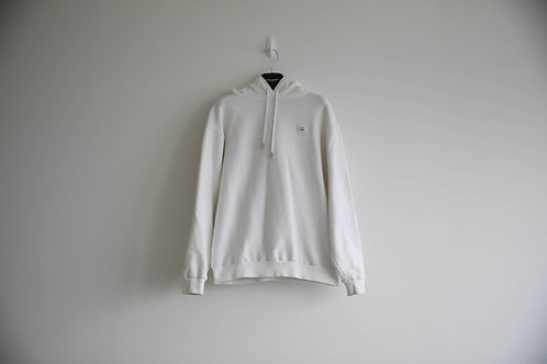 Acne White Smile Face Hoodie