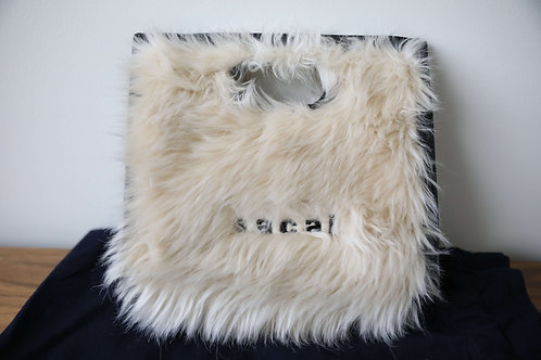 Sacai Leather Handbag