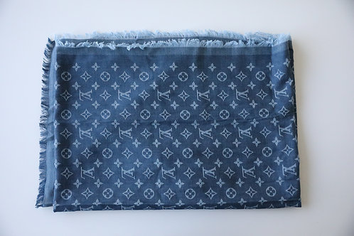 Louis Vuitton Monogram Denim Stole