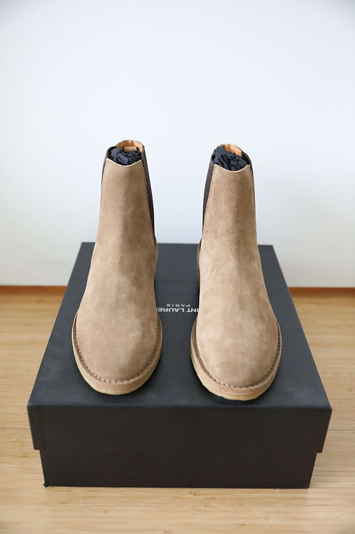 Saint Laurent Nevada 20MM Suede Boots