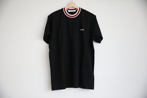 Givenchy Stripe Neck Logo T-shirt