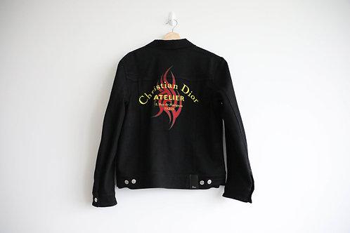 Dior Atelier Logo Denim Jacket