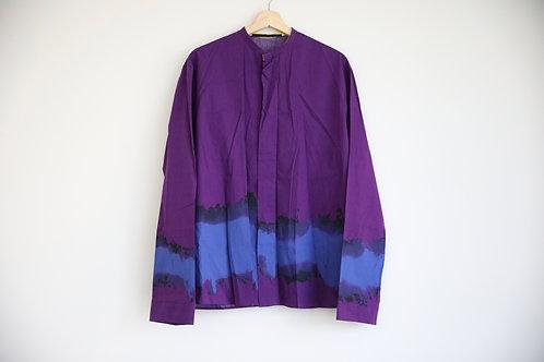 Haider Ackermann Tie Dye Purple Shirt