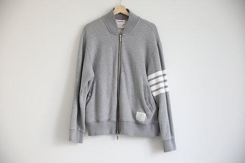Thom Browne 4-Bar Zipped Jacket