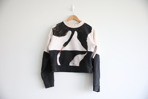 Acne Studios Cropped Sweatshirt