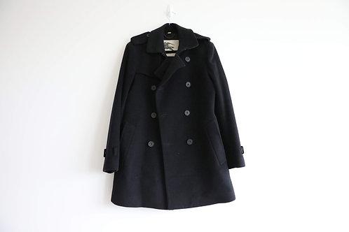 Burberry Mens Wool-Cashmere Coat