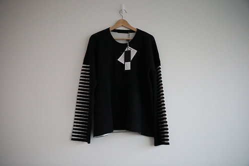 Haider Ackermann Striped Wool/Silk Blended Sweater