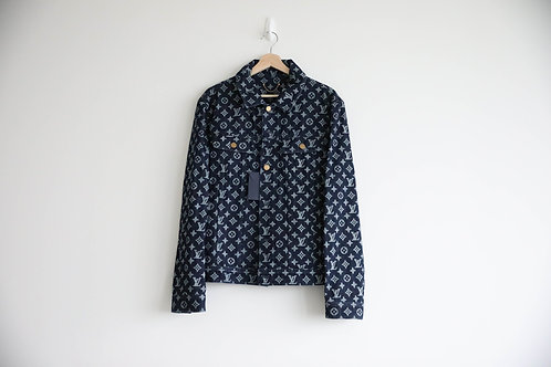 Louis Vuitton Dark Blue Monogram Denim Jacket