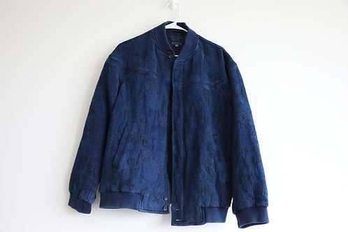 BlueBlueJapan Dyed Embroidery Jacket