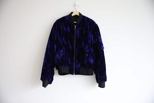 Haider Ackermann Purple Velvet Jacket