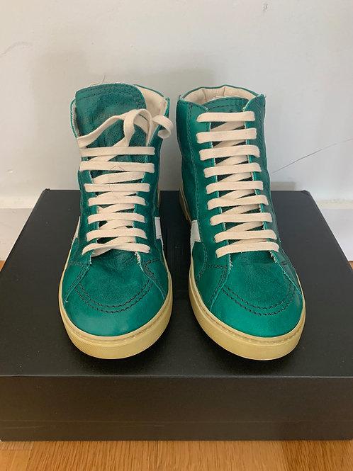 Saint Laurent Paris High-top Leather Sneaker