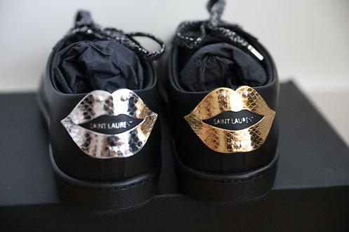 Saint Laurent Paris Lips Low-Top Sneaker