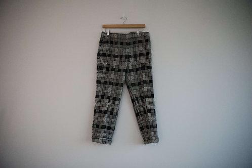 Thom Browne Tweed Wool Checked Pants