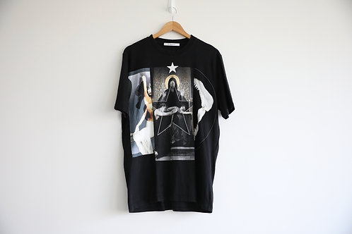 Givenchy Tri-Print Oversized T-shirt