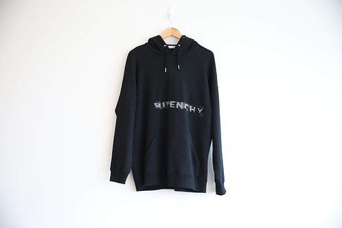 Givenchy Blurred Logo Hoodie