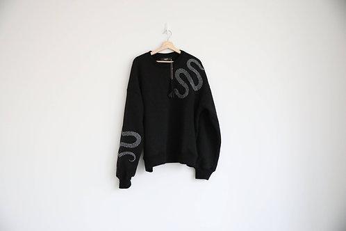 Amiri Snake Embellished Sweatshirt