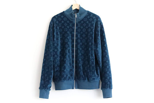 Louis Vuitton Velvet Zipped Jacket