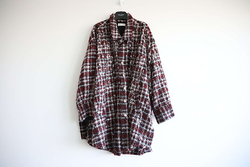 Faith Connexion Wool Blended Oversized Button Up Shirt
