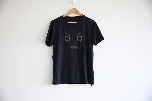 Fendi Crystal Embellished T-shirt