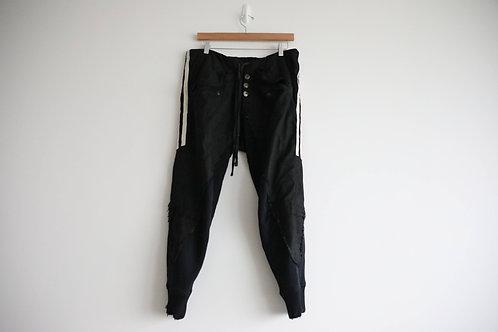 Greg Lauren 50/50 Striped Pants