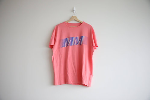 Maison Margiela Logo Pink T-Shirt