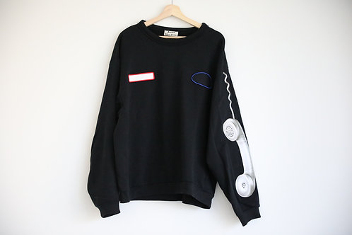 Acne Studio Patched Sweatshirt
