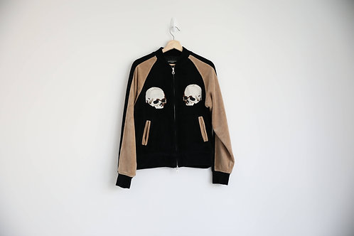 Mastermind Japan Embroidered Velvet Jacket