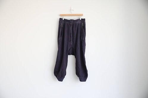 Boris Bidjan Saberi Purple Cropped Pants