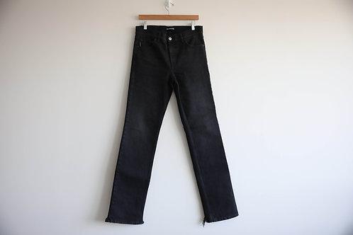 Balenciaga Black Straight Leg Jeans