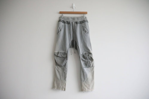 Haider Ackermann Grey Cropped Pants