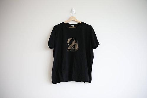 "Saint Laurent ""24"" Logo T-Shirt"