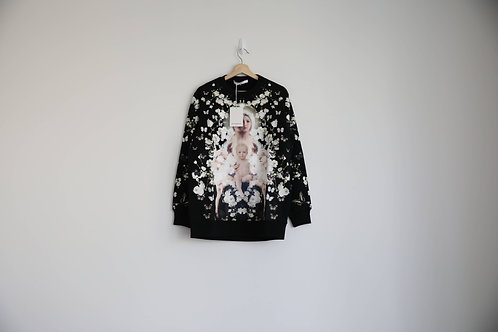 Givenchy Floral Madonna Print Sweatshirt