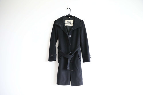Burberry Womens Wool-Cashmere Coat