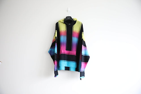 Amiri Tie-Dyed Cashmere Blended Hoodie