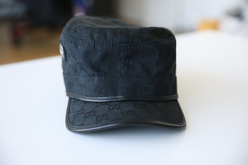Gucci Logo Canvas Hat