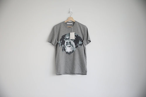 Givenchy Embroidered Grey Rottweiler T-shirt