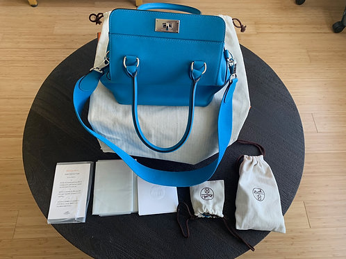 Hermes Evercolor Blue Toolbox 20