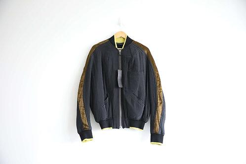 Haider Ackermann Silk-Trimmed Cotton Jacket