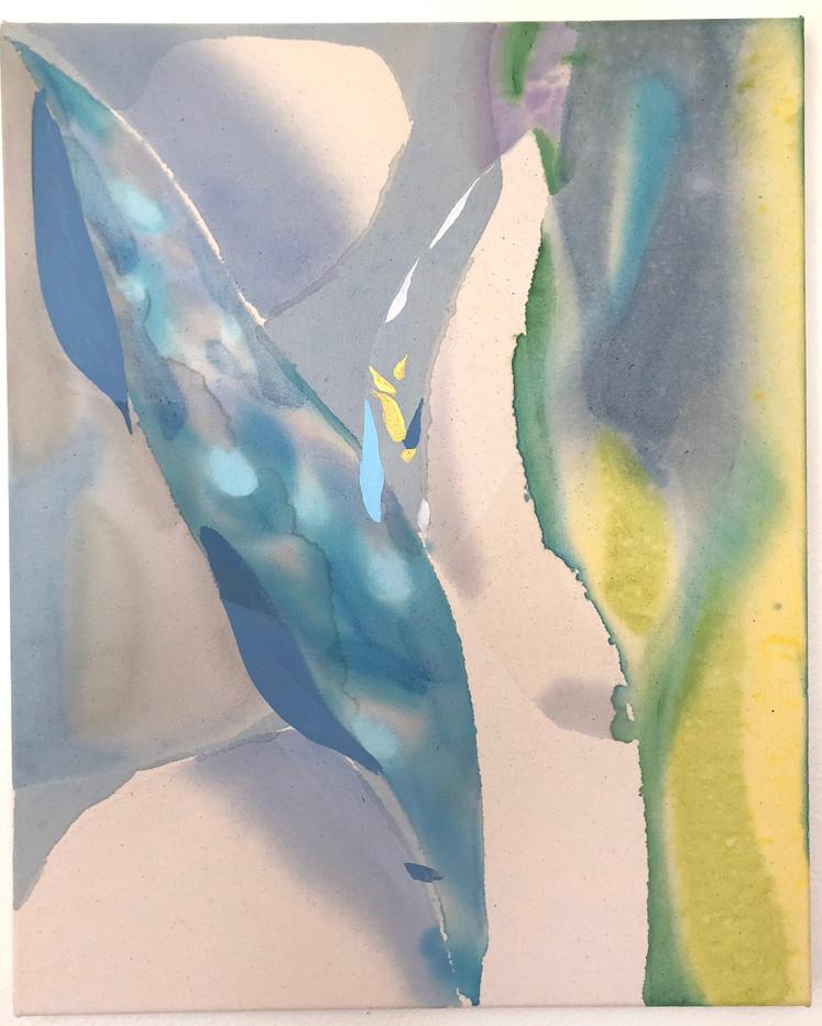 21 x 26 in., acrylic on canvas, 2021
