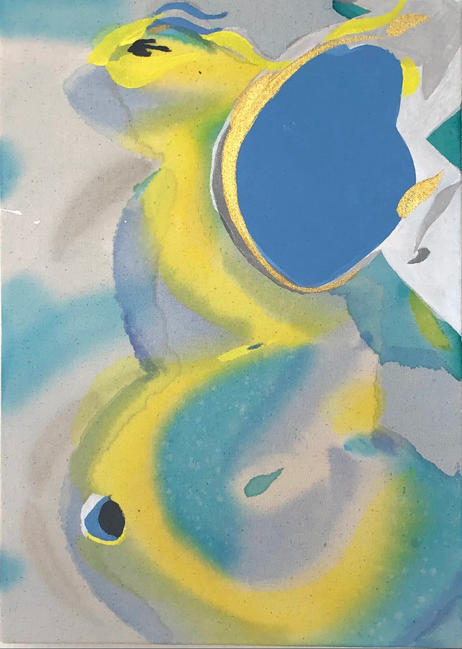 10 x 14 in., acrylic on canvas, 2021