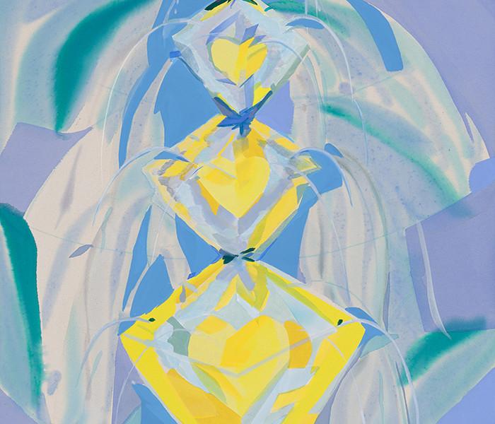 Crystal Heart Temple Fountain