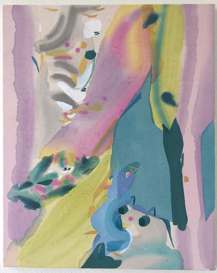 16 x 20 in., acrylic on canvas, 2021