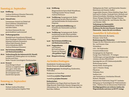 Programm Jubiläumsfest