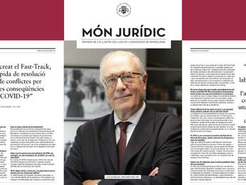 Entrevista a nuestro Socio Director Juli De Miquel en la revista Món Jurídic.