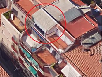 Cerramientos ilegales en terrazas