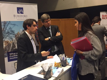 "EUROFORO A&M EN ""CAREER FAIR"" DE ESADE LAW SCHOOL"